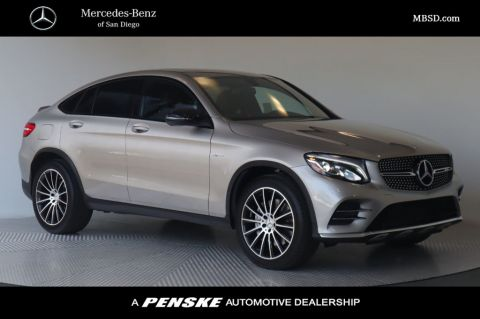 Pre-Owned 2019 Mercedes-Benz GLC AMG® GLC 43 4MATIC® Coupe