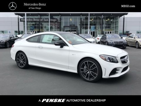 New 2019 Mercedes-Benz C-Class AMG® C 43 Coupe Coupe in San Diego