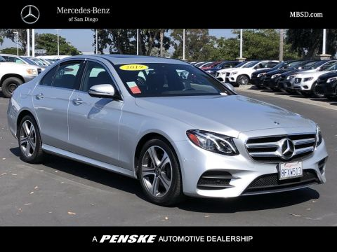 Certified Pre-Owned 2019 Mercedes-Benz E-Class E 300 Sport