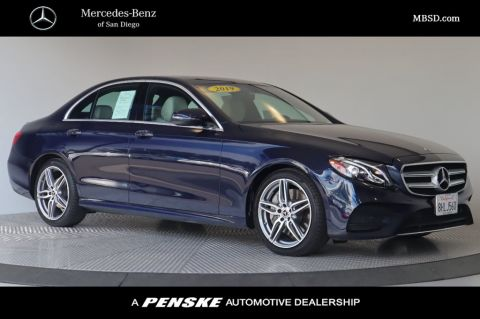 Certified Pre-Owned 2019 Mercedes-Benz E-Class E 300