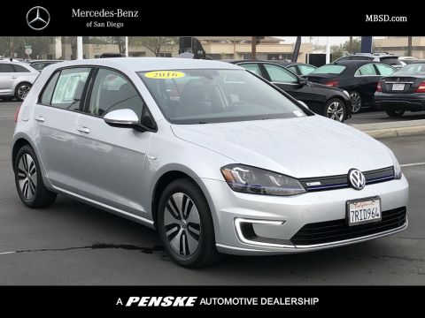 Pre-Owned 2016 Volkswagen e-Golf SEL Premium 4dr Hatchback